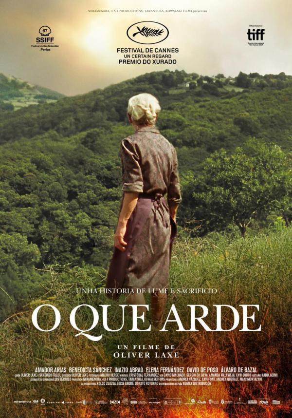 Imatge del cartell de la pel·lícula O que arde