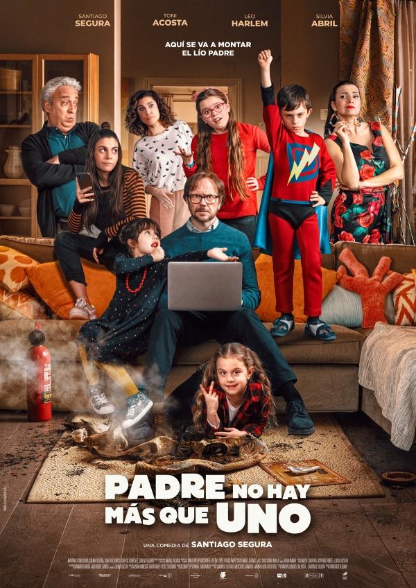 Imatge del cartell de la pel·lícula Padre no hay más que uno