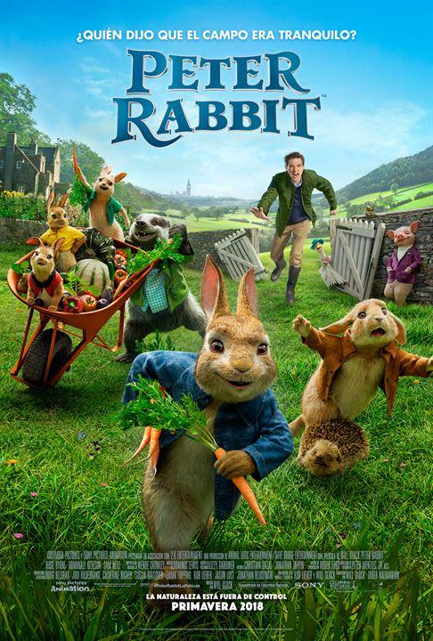 Imatge del cartell de la pel·lícula Peter Rabbit