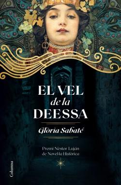 Imatge de la portada de la novel·la El vel de la deessa
