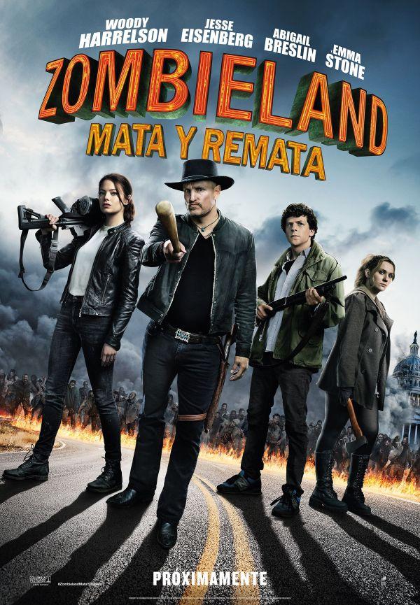 Imatge del cartell de la pel·lícula Zombieland. Mata y remata