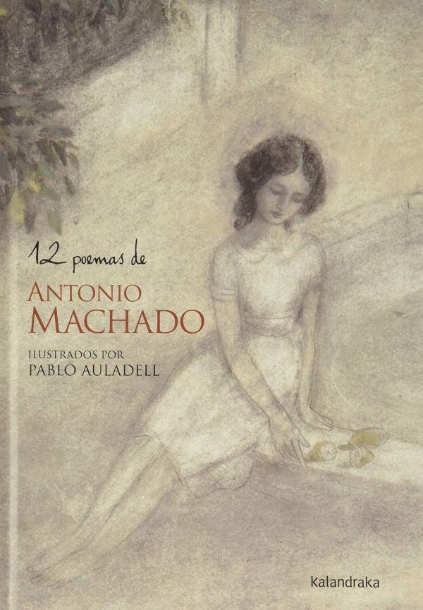 Imatge de la portada del llibre 12 poemas de Antonio Machado