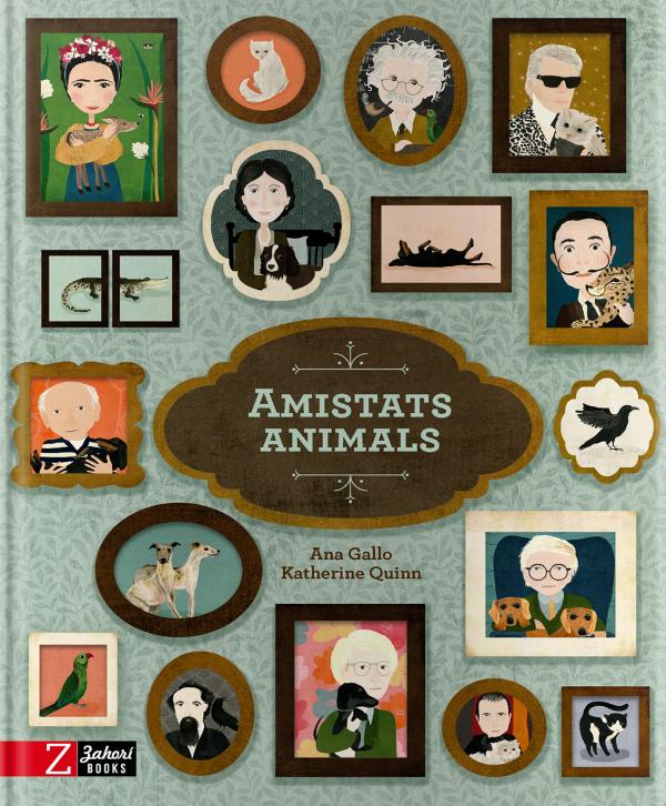 Imatge de la portada del llibre Amistats animals