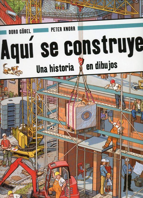 Imatge de la portada del llibre Aquí se construye