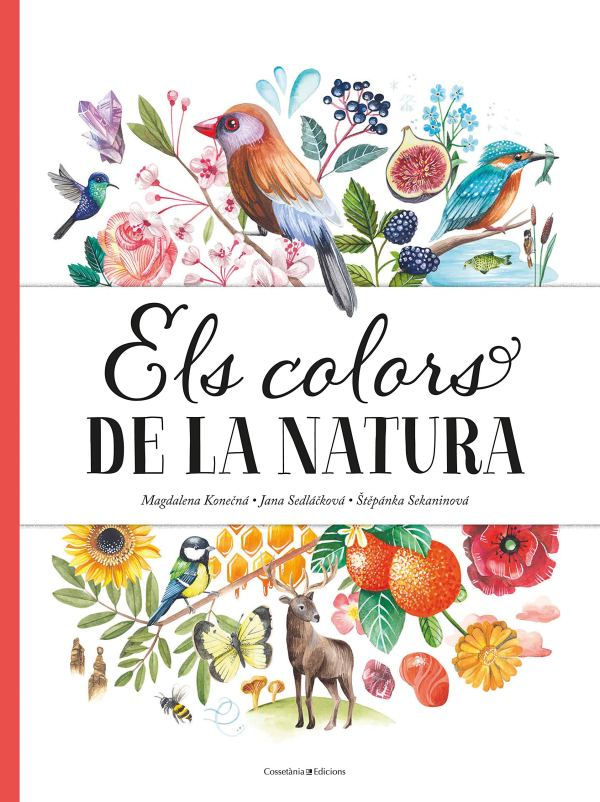 Imatge de la portada del llibre Els colors de la natura