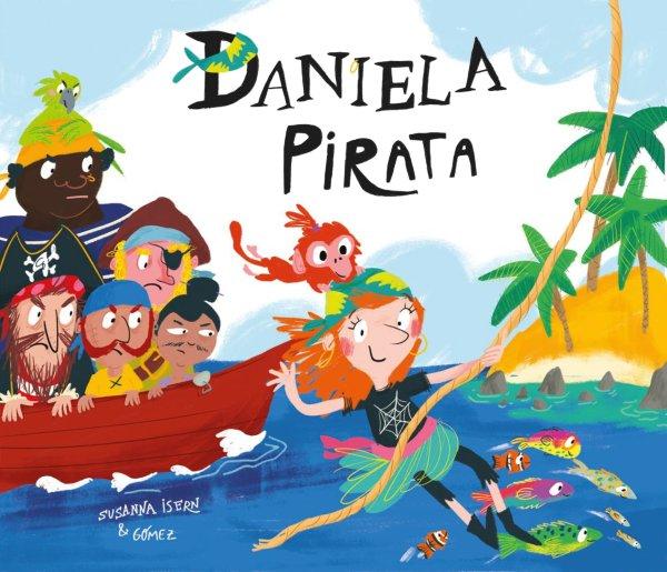 Imatge de la portada del llibre Daniela pirata