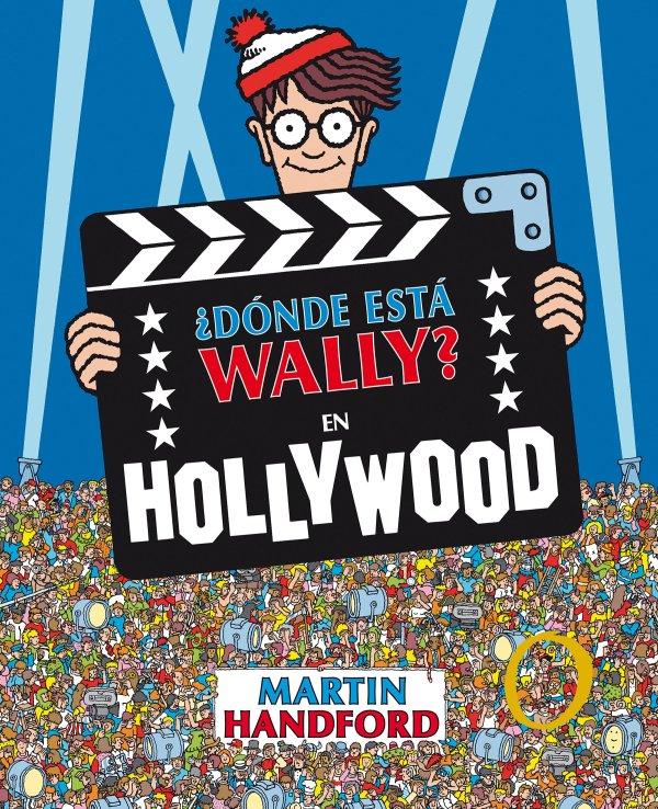 Imatge de la portada del llibre ¿Dónde está Wally? En Hollywood
