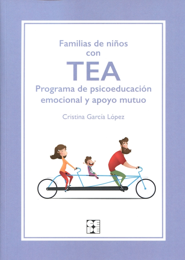 Imatge de la portada del llibre Familias de niños con TEA