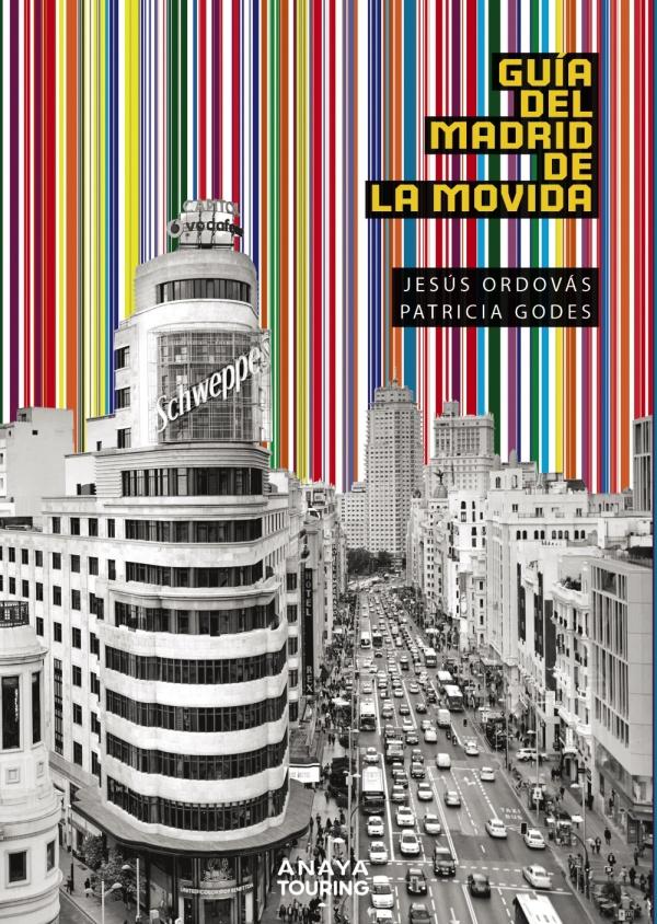Imatge de la portada del llibre Guía del Madrid de la movida