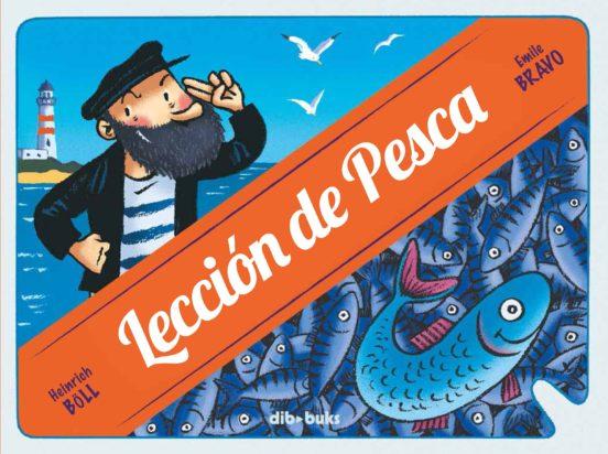 Imatge de la portada del llibre Lección de pesca