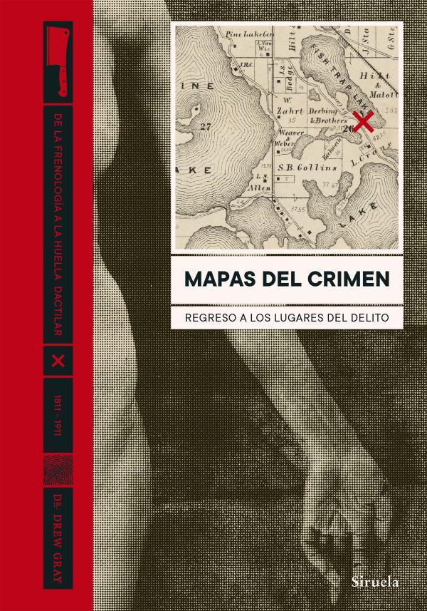Imatge de la portada del llibre Mapas del crimen