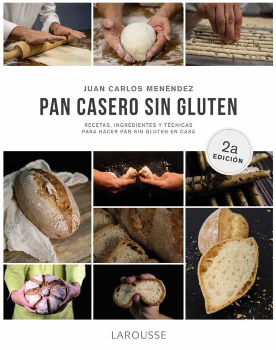 Imatge de la portada del llibre Pan casero sin gluten
