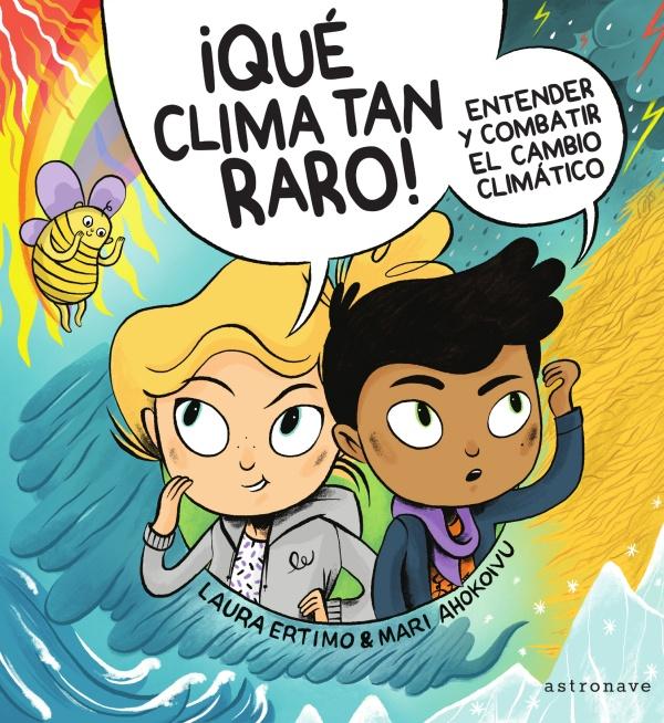 Imatge de la portada del llibre ¡Qué clima tan raro!