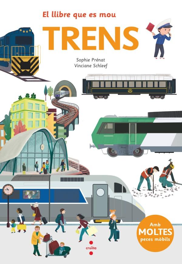 Imatge de la portada del llibre Trens