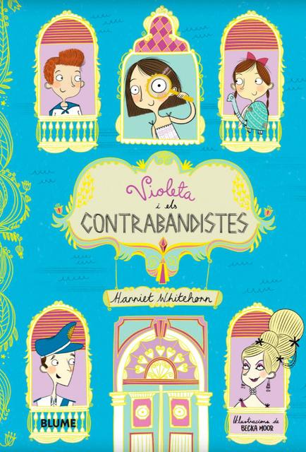 Imatge de la portada del llibre Violeta i els contrabandistes