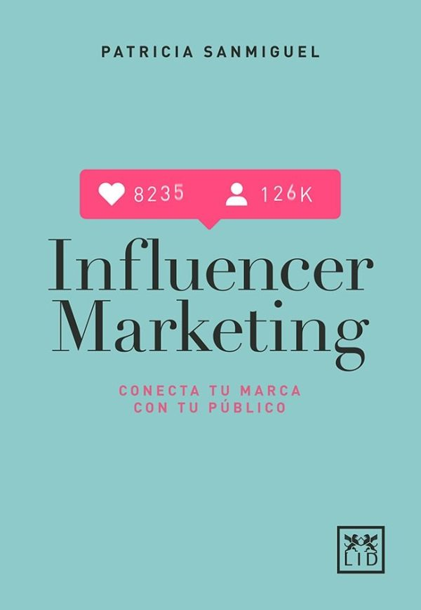 Imatge de la portada del llibre Influencer marketing