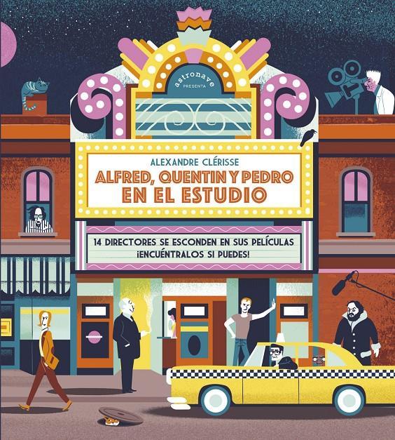 Imatge de la portada del llibre Alfred, Quentin y Pedro en el estudio