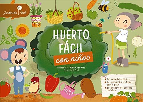 Imatge de la portada del llibre Huerto fácil con niños