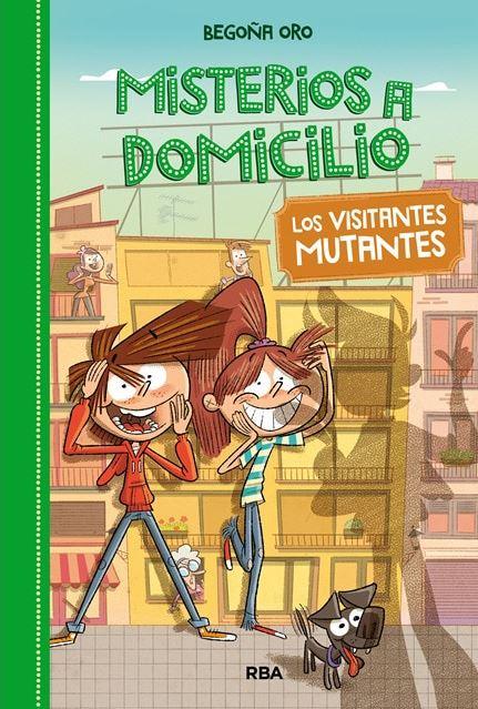 Imatge de la portada del llibre Misterios a domicilio