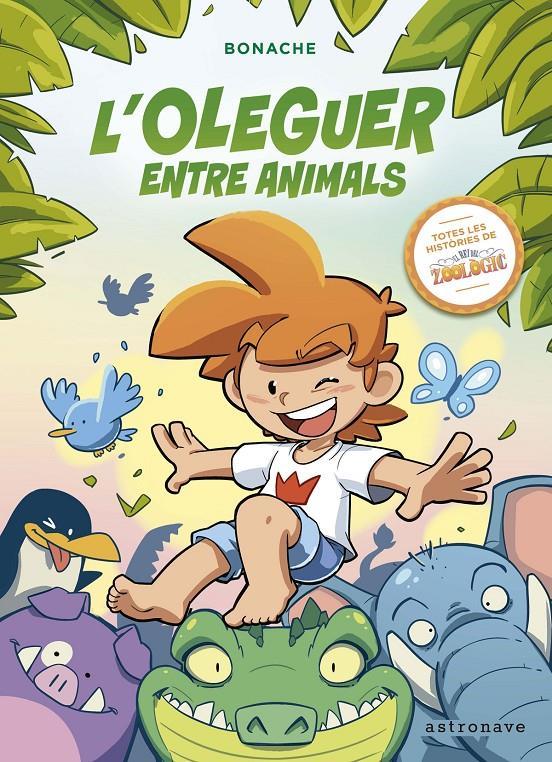 Imatge de la portada del llibre L'Oleguer entre els animals