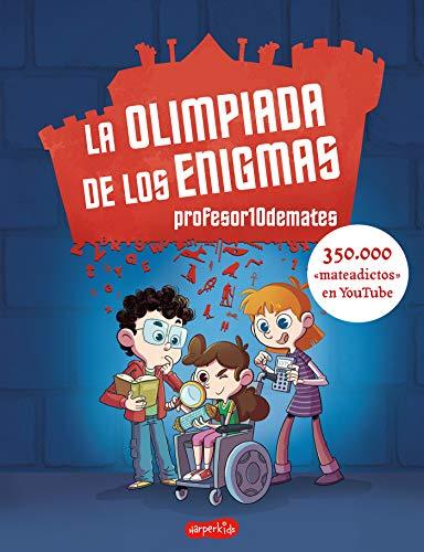 Imatge de la portada del llibre La olimpiada de los enigmas