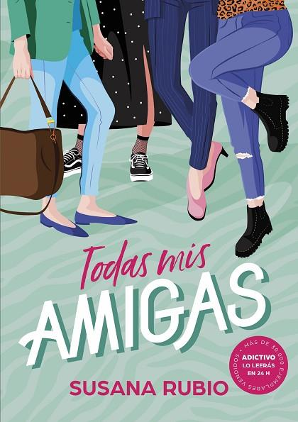 Imatge de la portada del llibre Todas mis amigas