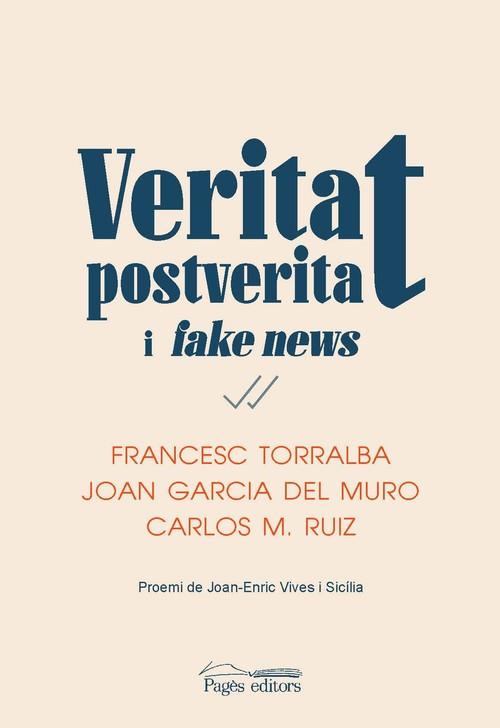 Imatge de la portada del llibre Veritat, postveritat i fake news