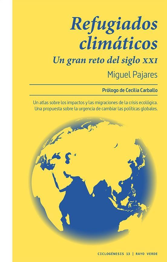 Imatge de la portada del llibre Refugiados climáticos