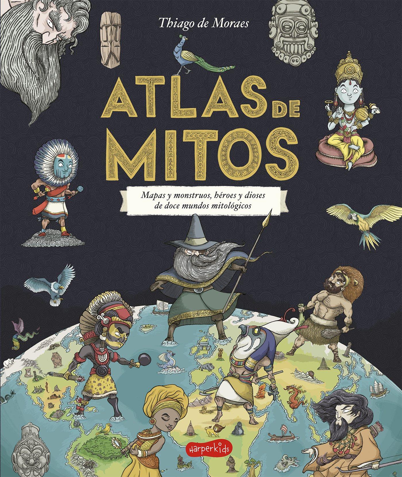 Imatge de la portada del llibre Atlas de mitos