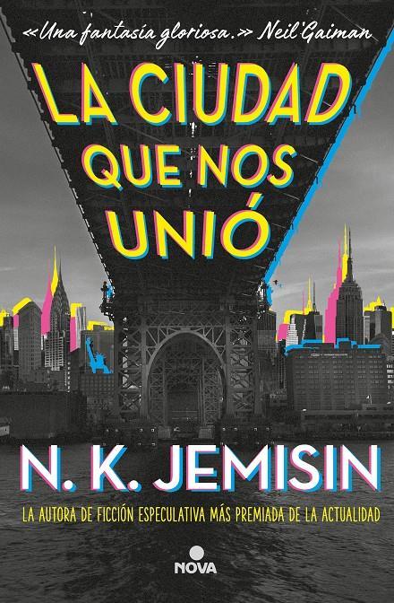 Imatge de la portada de la novel·la La ciudad que nos unió