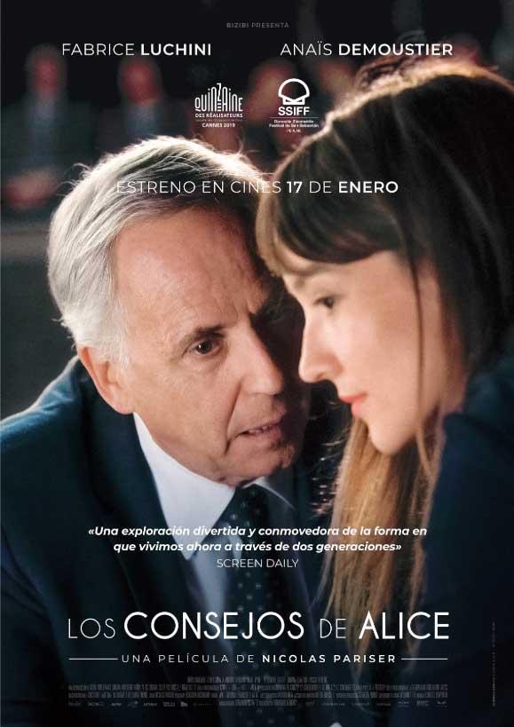 Imatge del cartell de la pel·lícula Los consejos de Alice