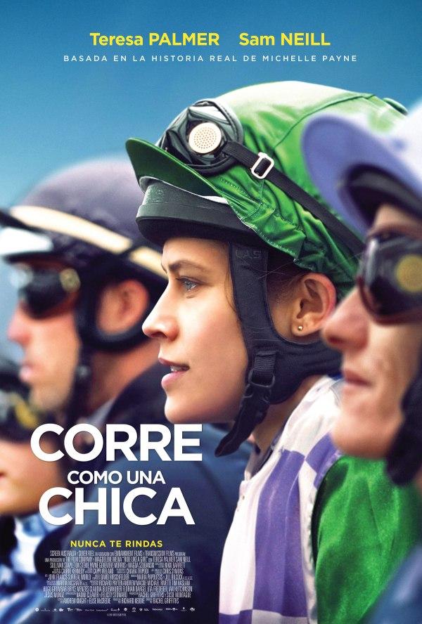 Imatge del cartell de la pel·lícula Corre como una chica