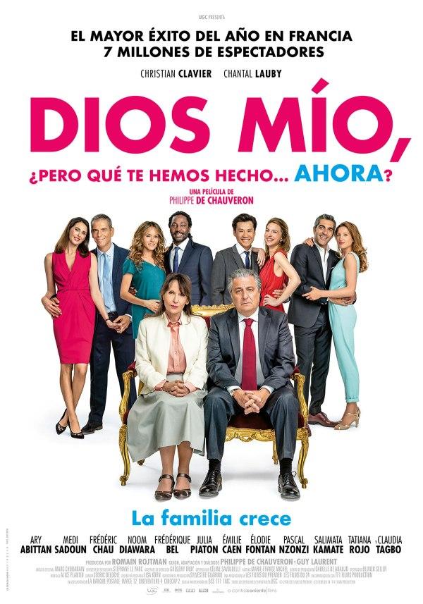 Imatge del cartell de la pel·lícula Dios mío, pero qué te hemos hecho ahora?