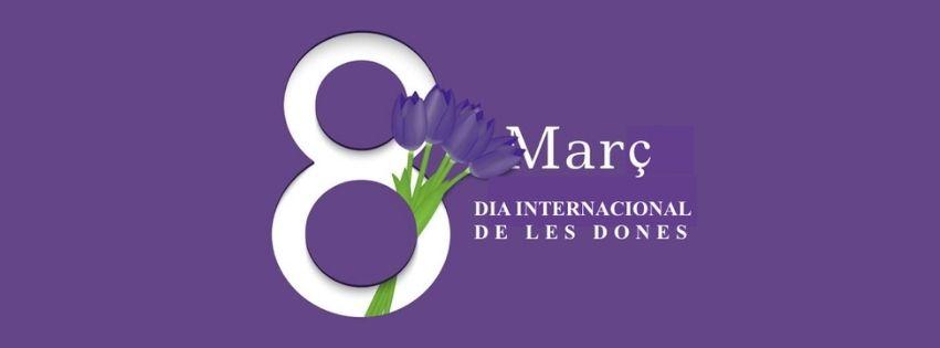Imatge commemorativa del 8 de març