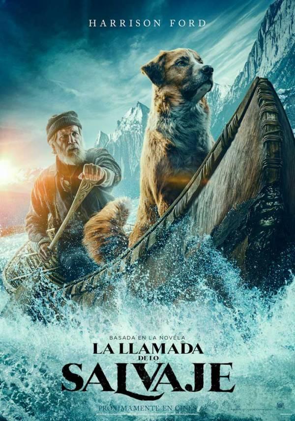 Imatge del cartell de la pel·lícula La llamada de lo salvaje