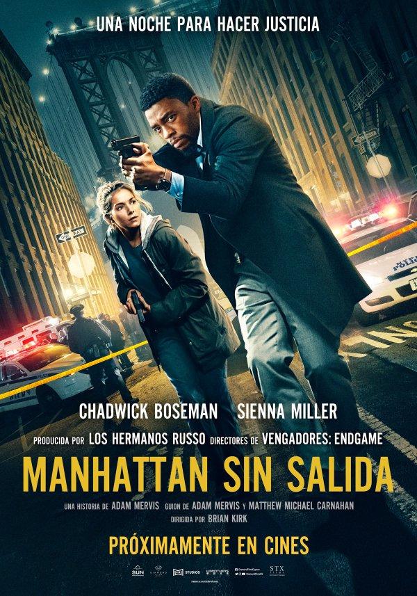 Imatge del cartell de la pel·lícula Manhattan sin salida