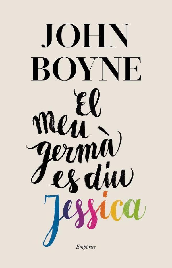 Imatge de la portada de la novel·la El meu germà es diu Jessica