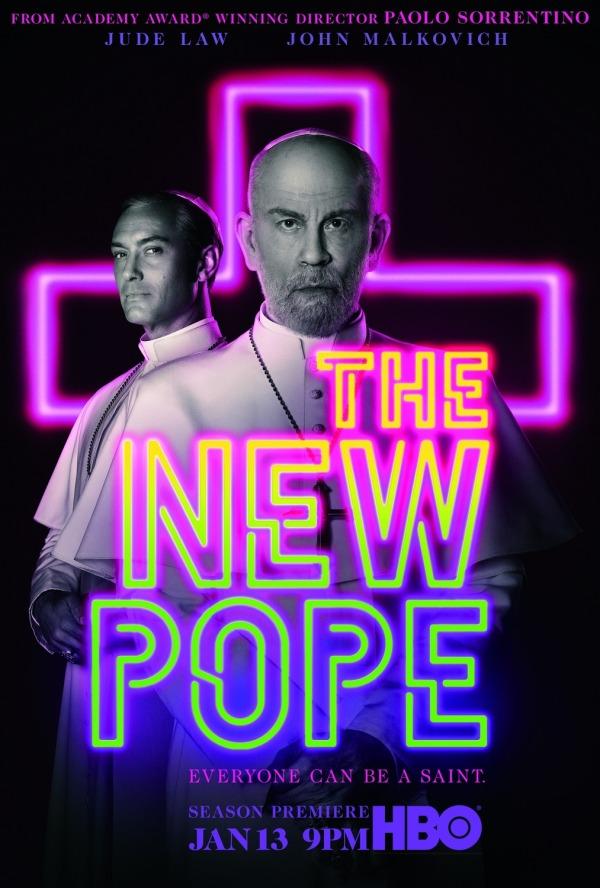 Imatge del cartell de la sèrie The new Pope