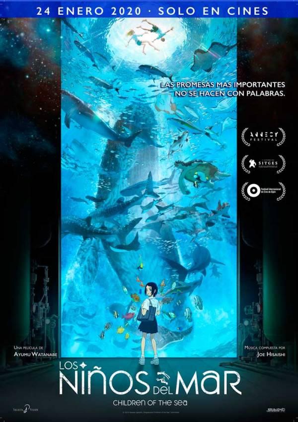 Imatge del cartell de la pel·lícula Niños del mar