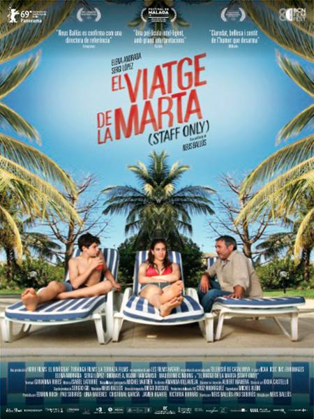 Imatge del cartell de la pel·lícula El viaje de Marta