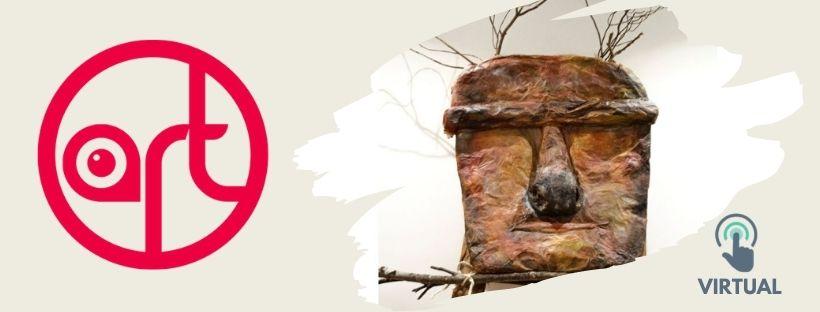 Imatge amb el text art i una imatge de l'escultura We Felitu