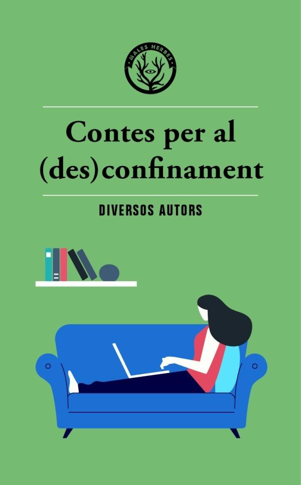 Imatge de la portada de la novel·la Contes per al (des)confinament