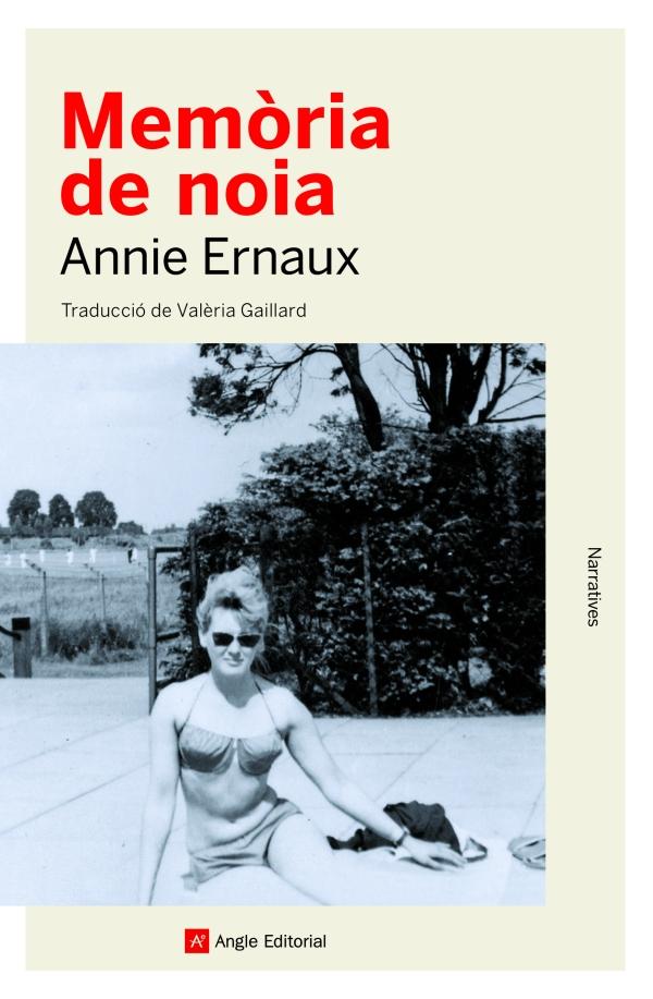 Imatge de la portada de la novel·la Memòria de noia