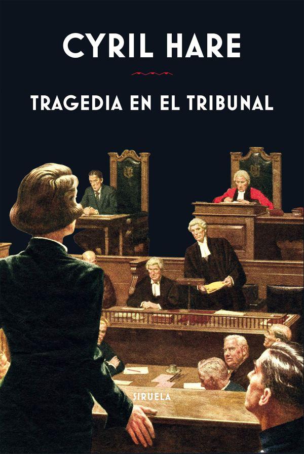 Imatge de la portada de la novel·la Tragedia en el tribunal