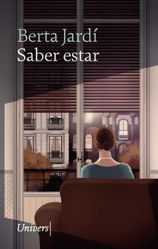 Imatge de la portada de la novel·la Saber estar