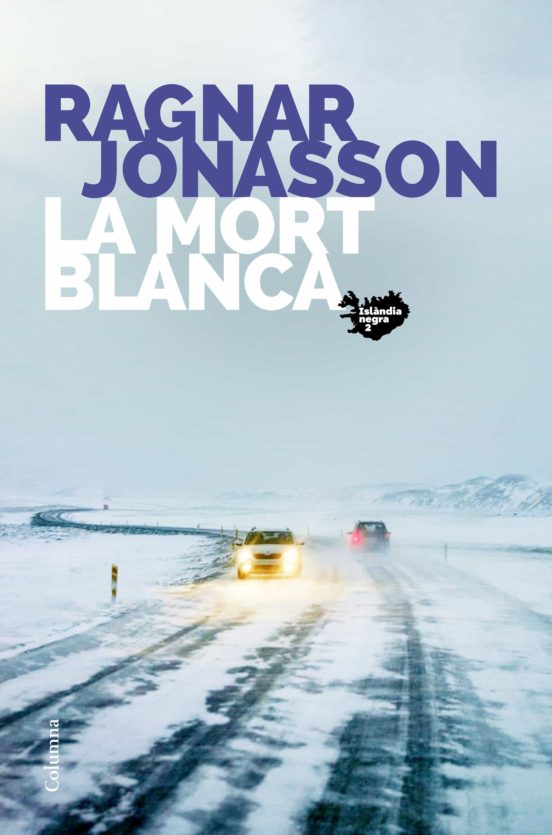 Imatge de la portada de la novel·la La mort blanca