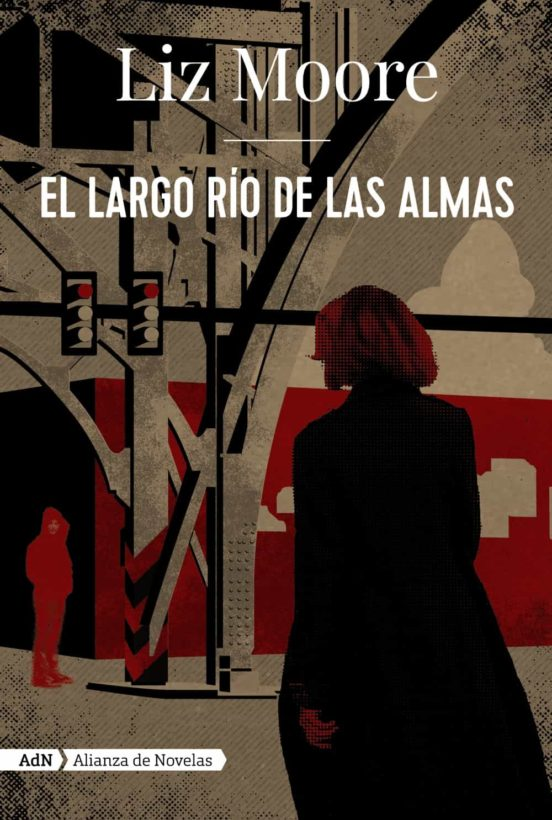 Imatge de la portada de la novel·la El largo río de las almas