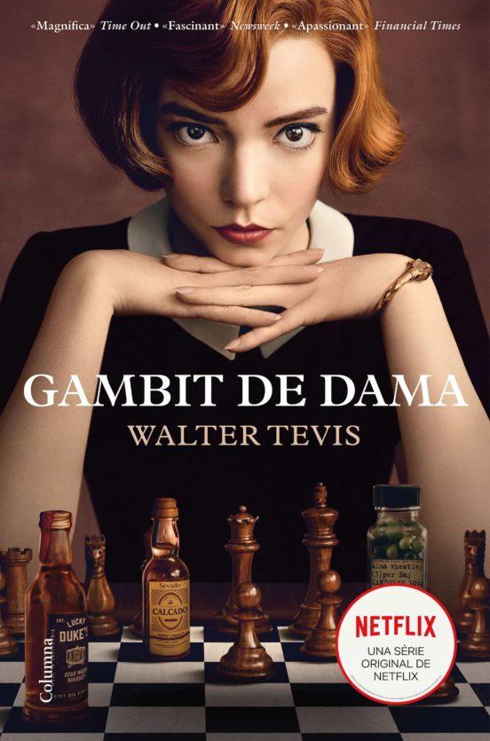 Imatge de la portada de la novel·la Gambit de dama