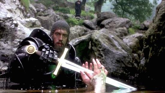 Imatge de la pel·lícula Excalibur