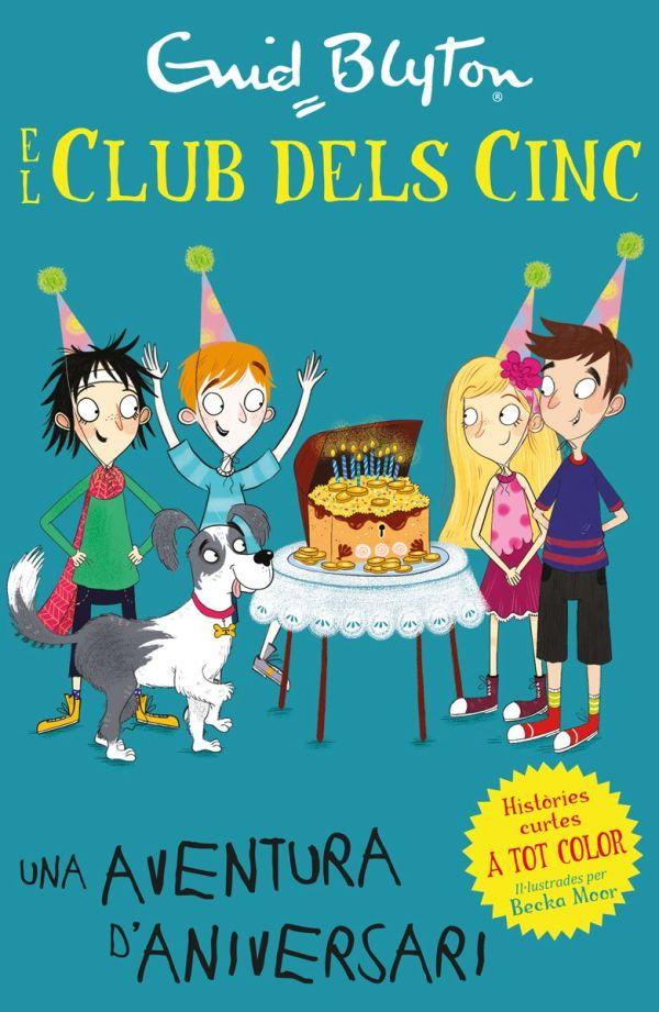 Imatge de la portada del llibre infantil El club dels cinc